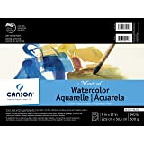 """Canson Montval Watercolor Pad, 9""""X12"""" Fold Over"""