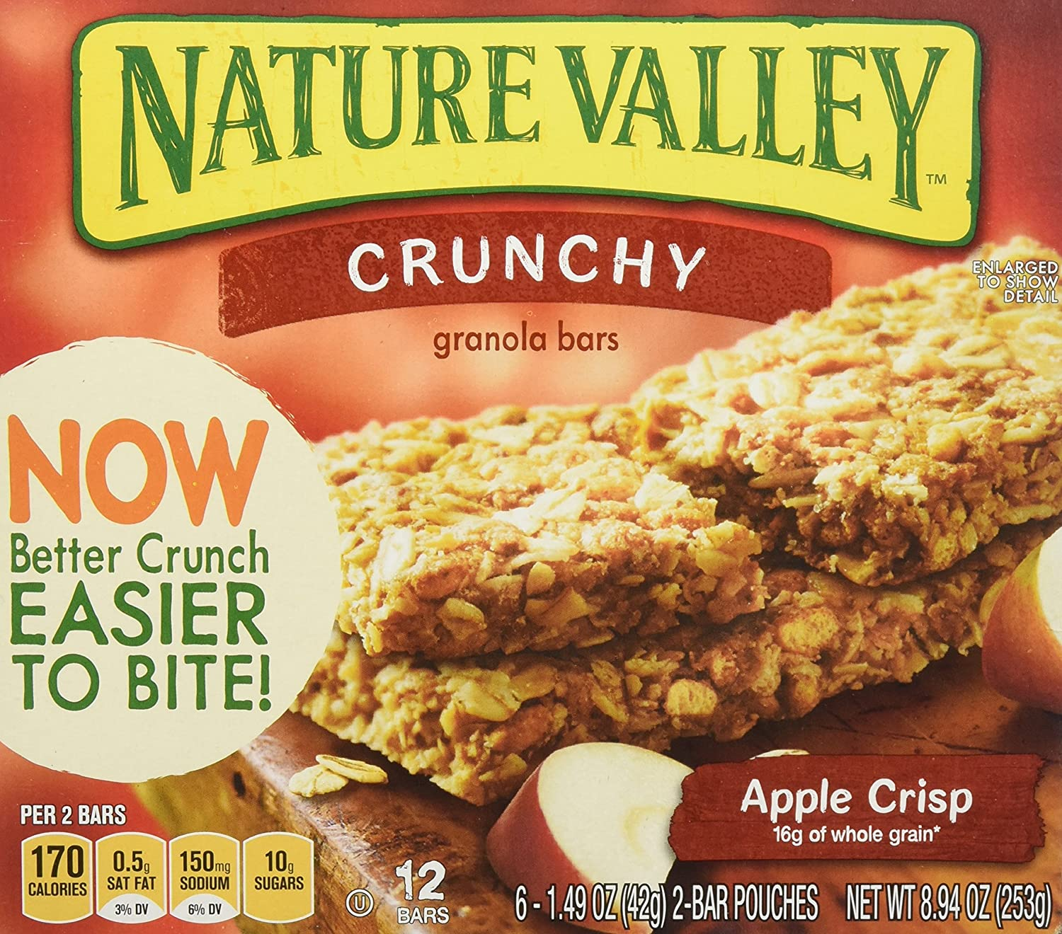 Nature Valley Apple Crisp Granola Bars 8.9 oz