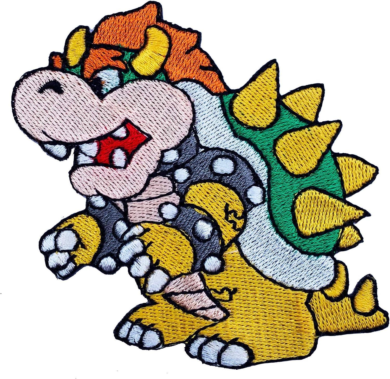 Parche de Bowser para disfraz, Super Mario Brothers: Amazon.es: Hogar