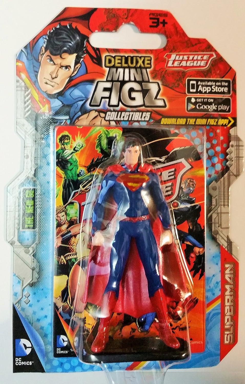 Amazon com: Deluxe Mini Figz Superman DC Comics Justice