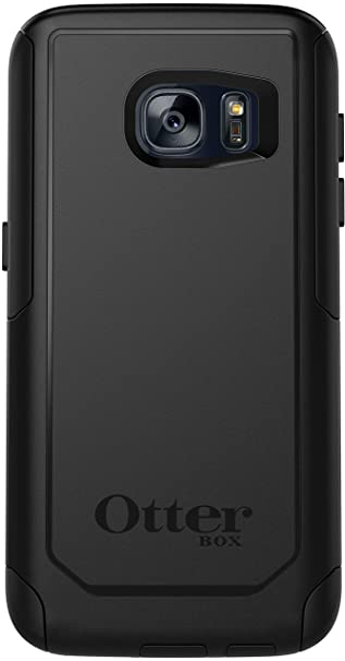 reputable site 9f999 06a19 OtterBox Commuter Series Case Compatible with Samsung Galaxy S7 (ONLY)  Non-Retail Packaging - Black