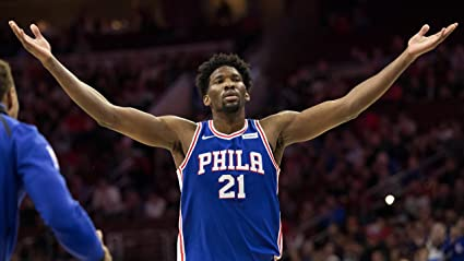 07ad10aa2 Image Unavailable. Image not available for. Color  Joel Embiid Philadelphia  76ers Basketball Limited Print Photo Poster ...