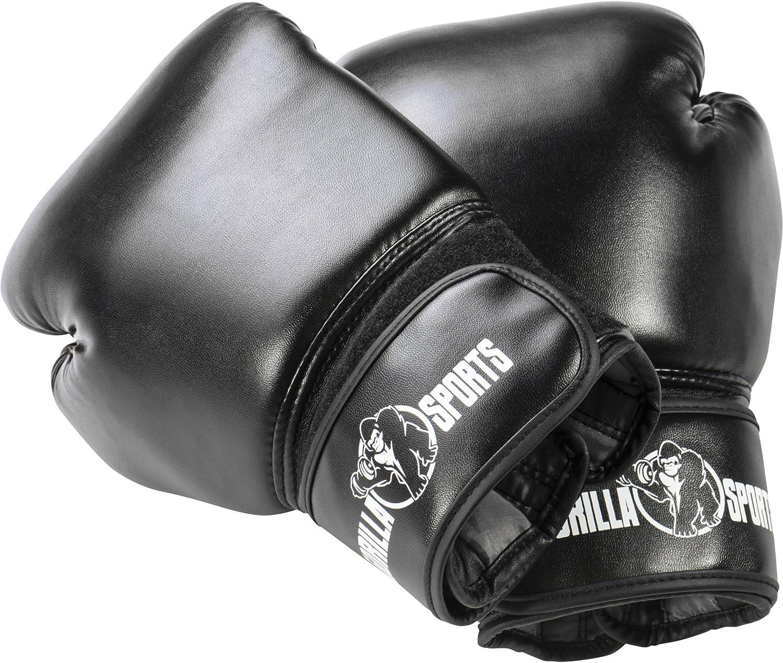 Gorilla Sports Starter Boxes Pack 6 Artículos – Saco de Boxeo – Guantes de Boxeo – Cuerda de Saltar – Bandas de Mantenimiento: Amazon.es: Deportes y aire libre