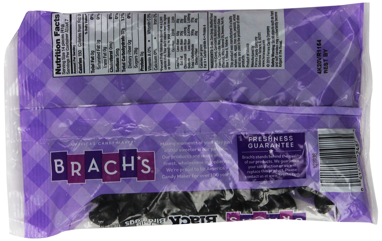 Brach's Black Licorice Jelly Bean Bird Eggs 9.25 Oz (Pack of 2)