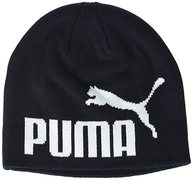 Puma ESS Big Cat/N1 Logo Jr Gorro, Infantil, Negro, Junior: Amazon ...