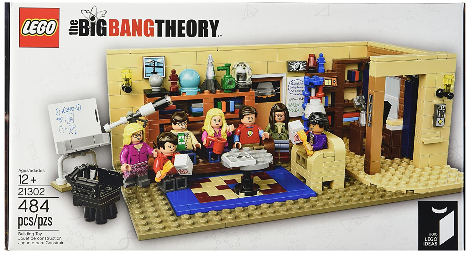 legos big bang theory set