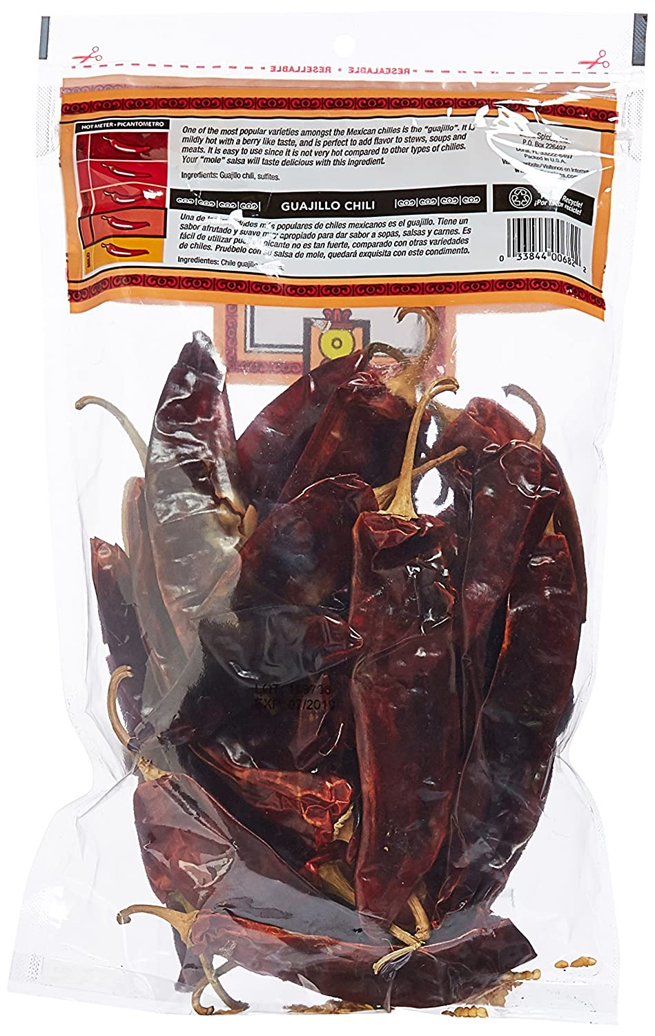 Amazon.com : Badia Guajillo Chile 6 oz Pack of 2 : Grocery & Gourmet Food