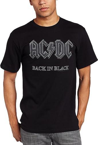 AC/DC - Camiseta - Camiseta gráfica - Manga Corta - Opaco - Hombre: Amazon.es: Ropa y accesorios