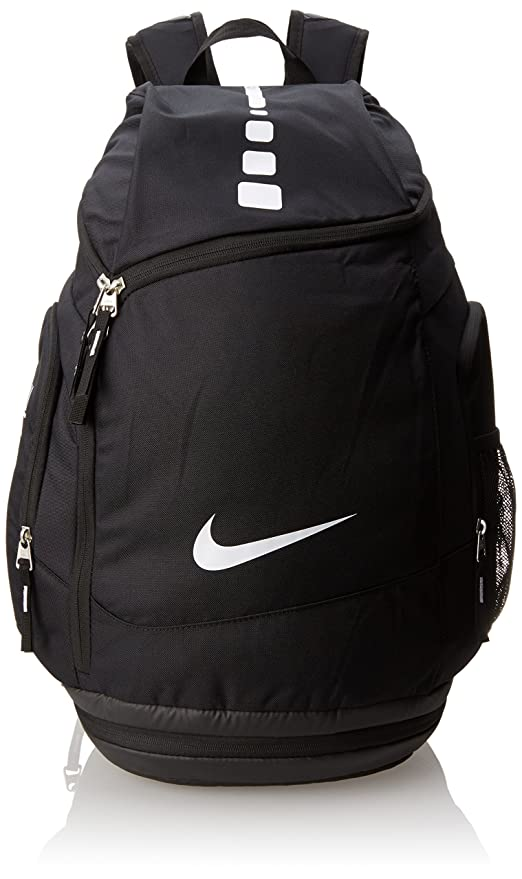 5becaf62b6 Nike Hoops Elite Max Air Team Backpack Black White Size One Size   Amazon.in  Sports
