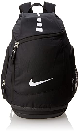 Amazon.com   Nike Hoops Elite Max Air Team Backpack Black White Size ... 4173cd62b