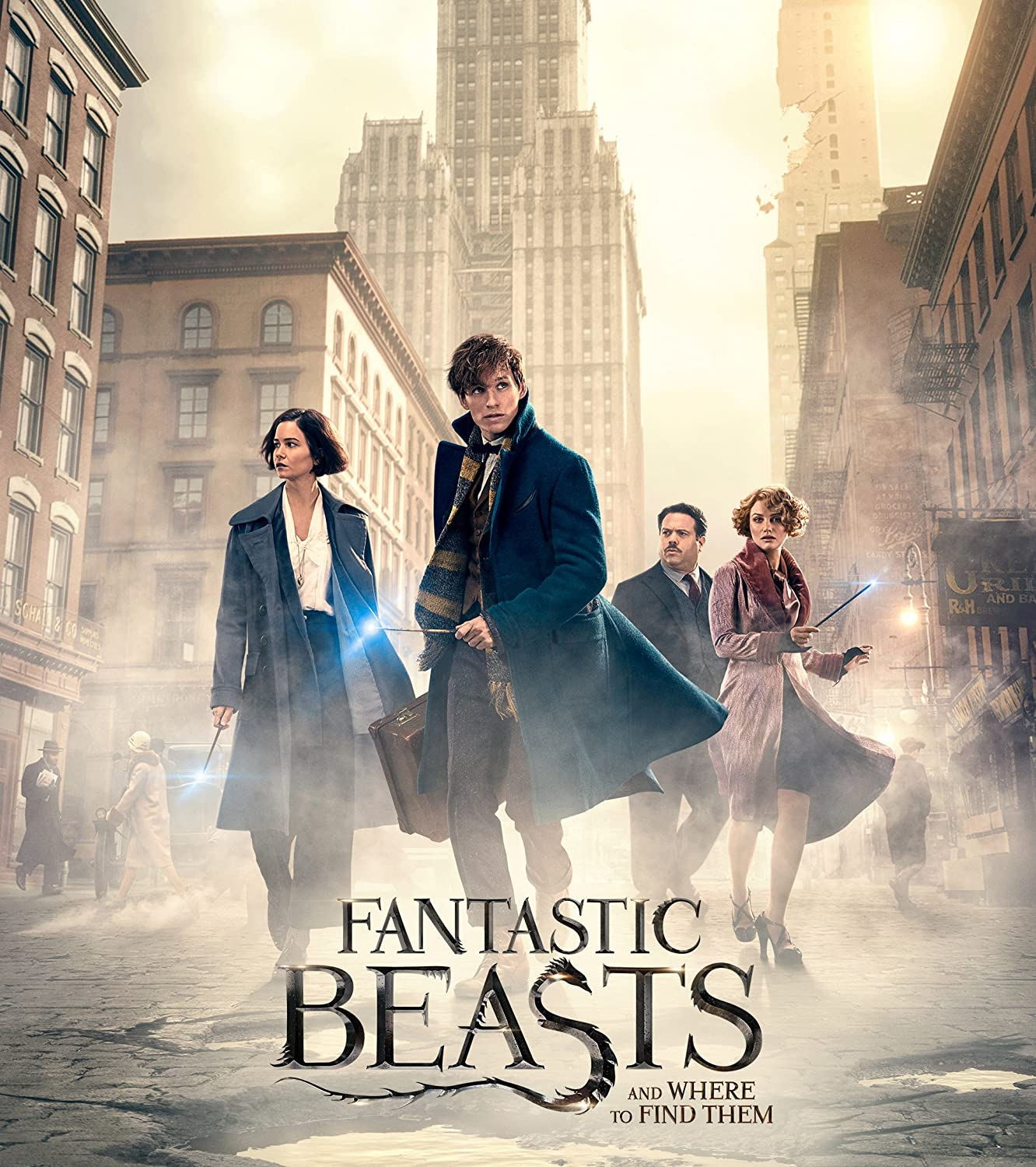 Uhd Animales Fantásticos Y Dónde Encontrarlos Fantastic Beasts And Where To Find Them 2016 David Yates Y Secuelas