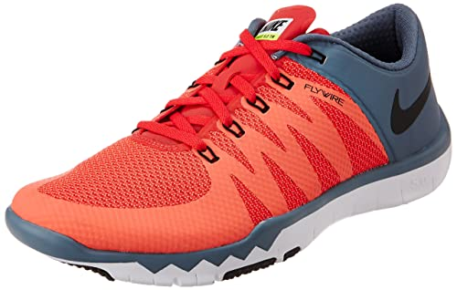 low priced 17a90 81ba1 Nike Men s Free Trainer 5.0 V6 Daring Red,Black,Blue Graphite Outdoor  Multisport Training