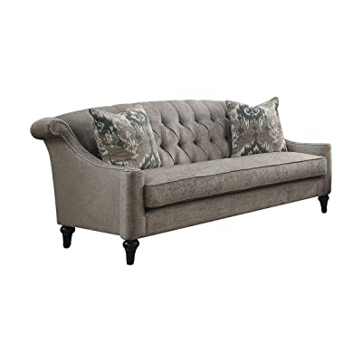 Acme Furniture 52865 Colten Sofa, Gray
