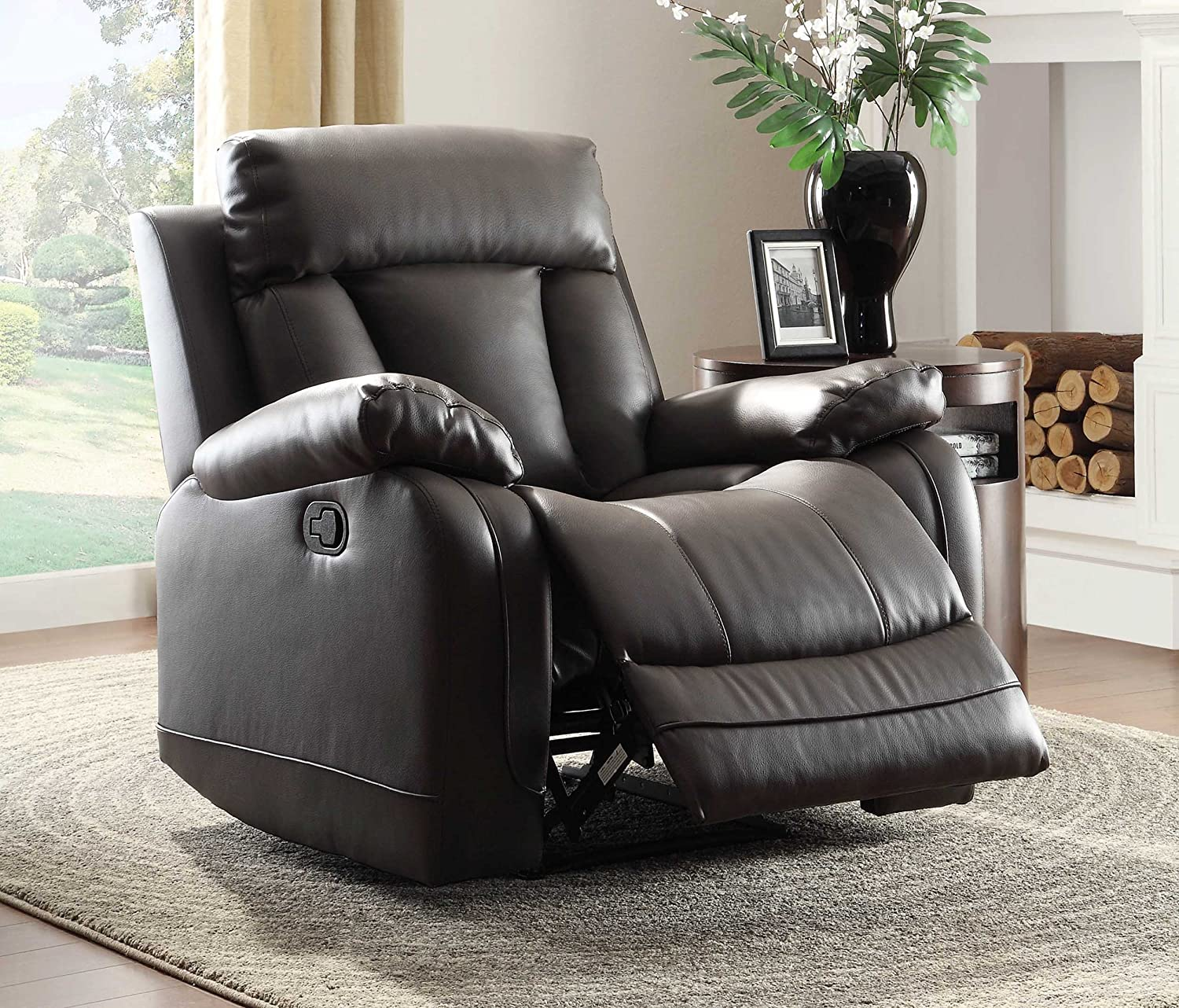 s chairs rooms transformer kane with furniture products headrest room recliners to power living recliner black go