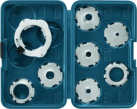 Bosch 8-Piece Router Template Guide Set RA1128
