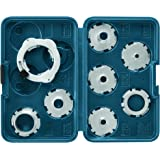 Bosch RA1128 8-Piece Template Guide Set