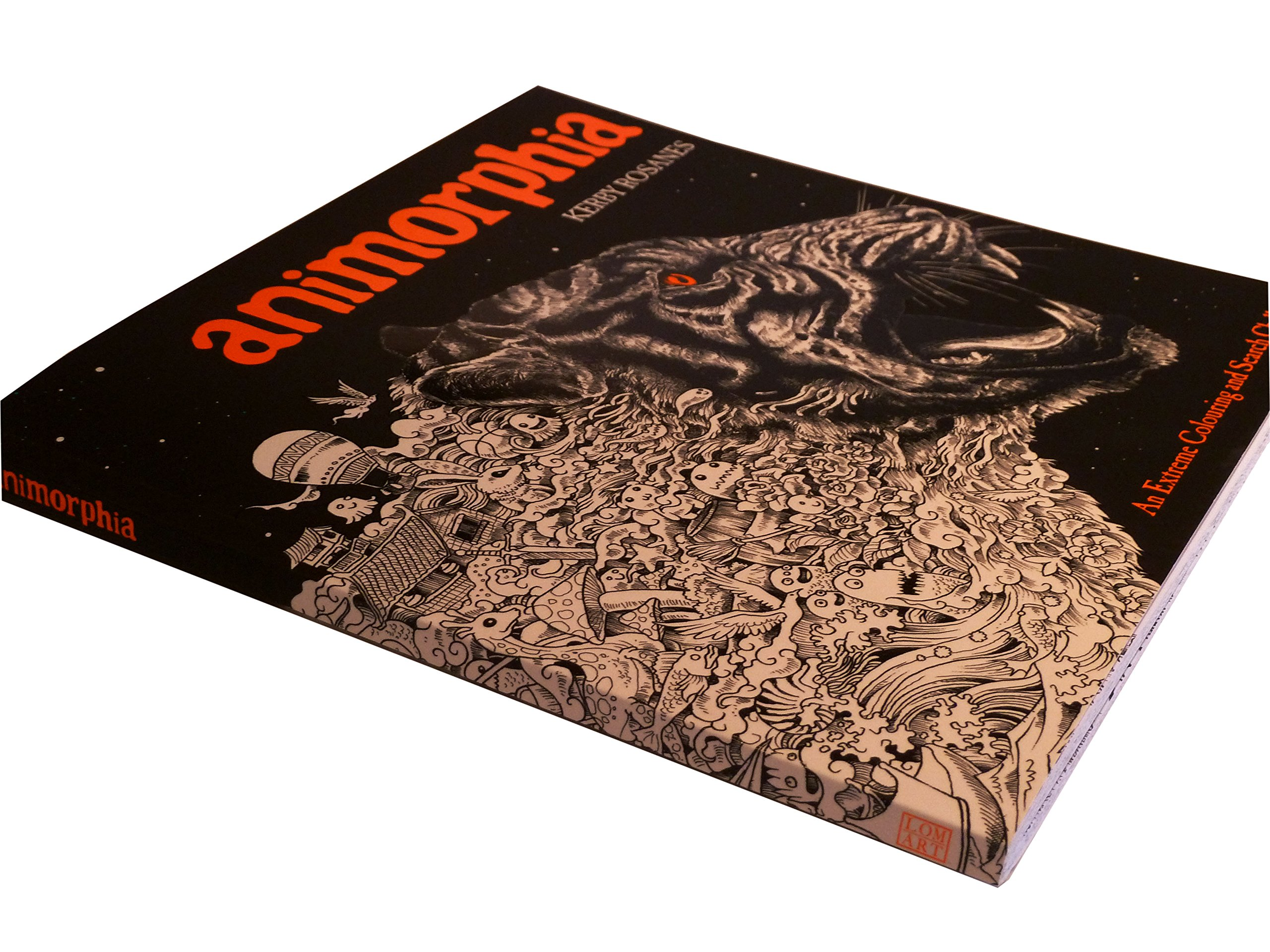 Buy Animorphia An Extreme Colouring And Search Challenge Book Online At Low Prices In India