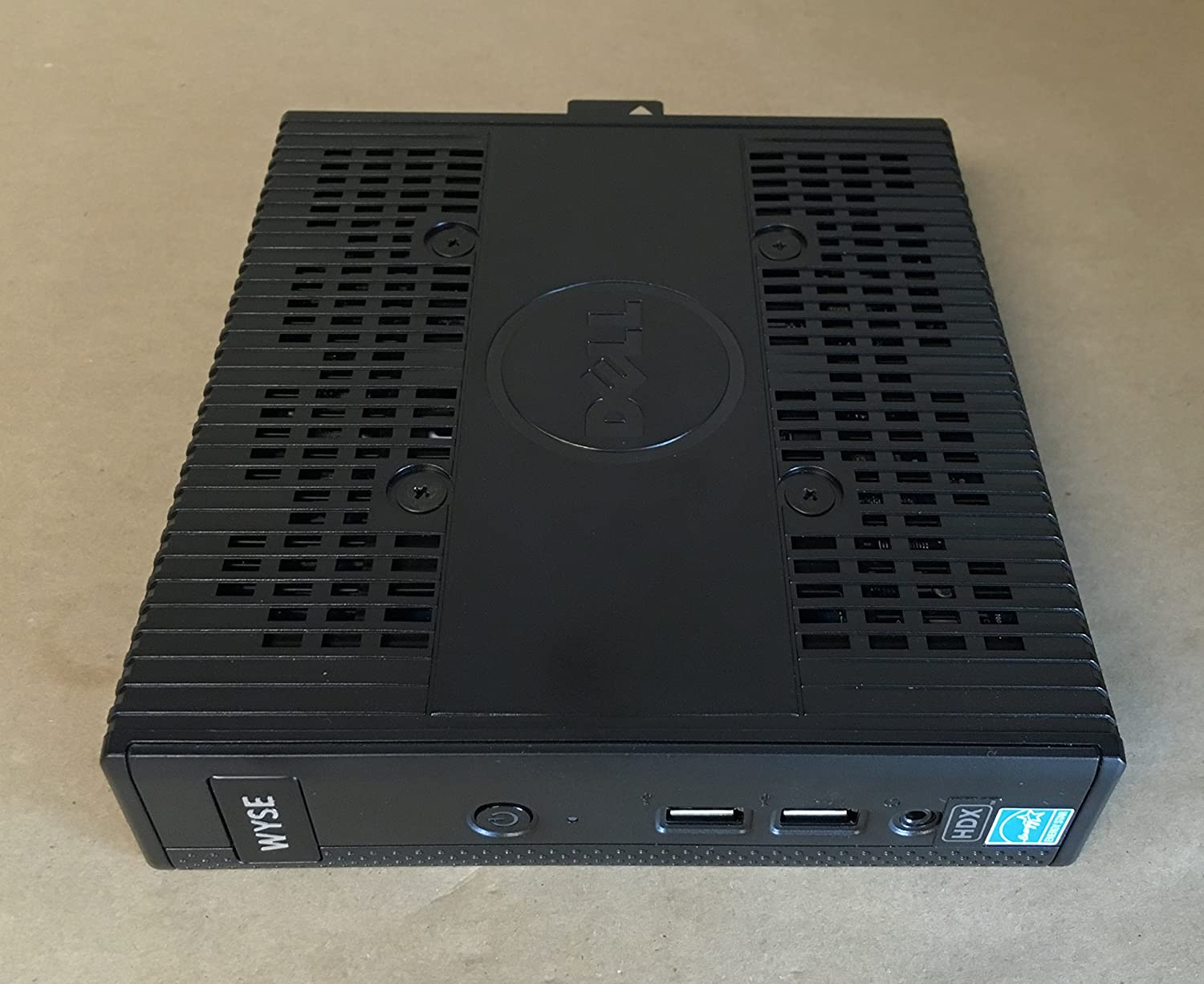 Dell Wyse WDKD5 5010 Mini Desktop, 2 GB RAM, 8 GB Flash, AMD Radeon HD 6250, Black