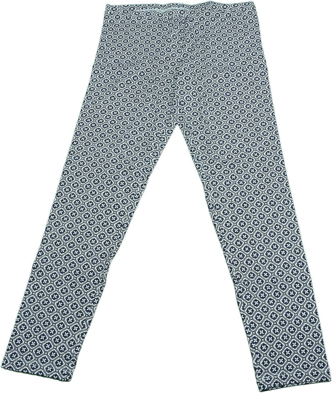 908767c971f73 June & Daisy Ladies Size Medium Carpi Legging Pants Geo Floral/White  delicate