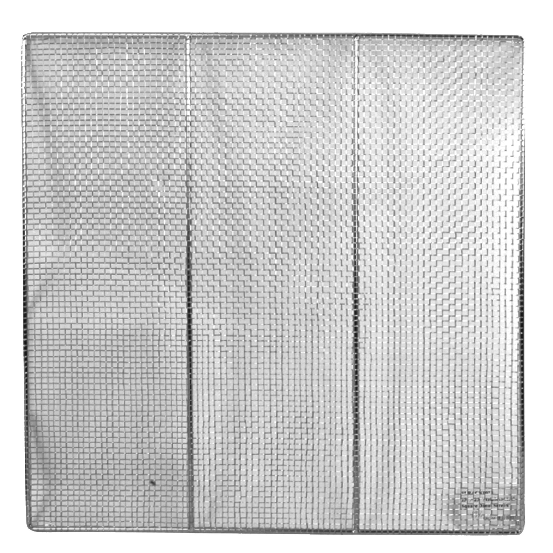 Excellante 23'' SQUARE DONUT SCREENS, STAINLESS STEEL