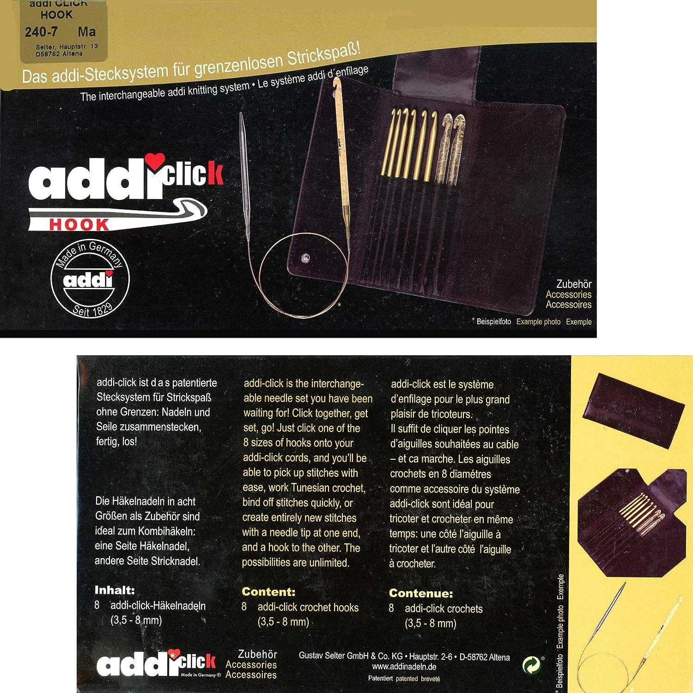 addi Click Crochet Hook Tips