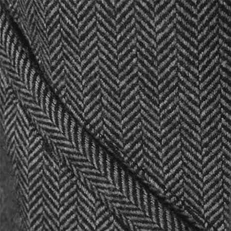Bershka - Abrigo - Gabán - para hombre Black Light Grey Large: Amazon.es: Ropa y accesorios