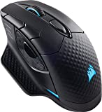 Corsair DARK CORE RGB SE Wired/Wireless Gaming Mouse with Qi Charging - Black