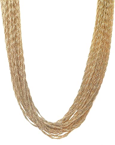 Statement necklace gold statement necklace multi strand necklace gold multi strand necklace bold gold necklaces