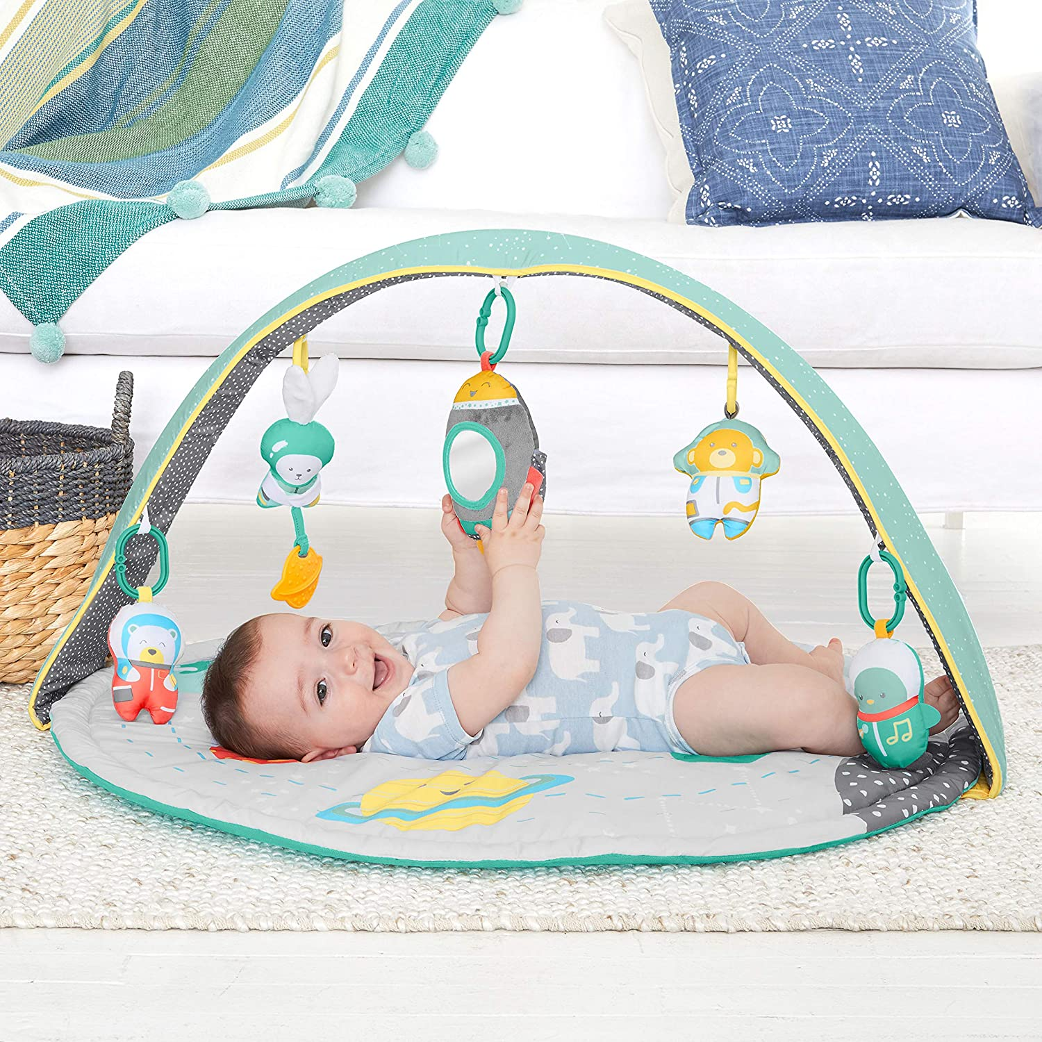 Carters Safari Baby Play Mat and Infant Activity Gym
