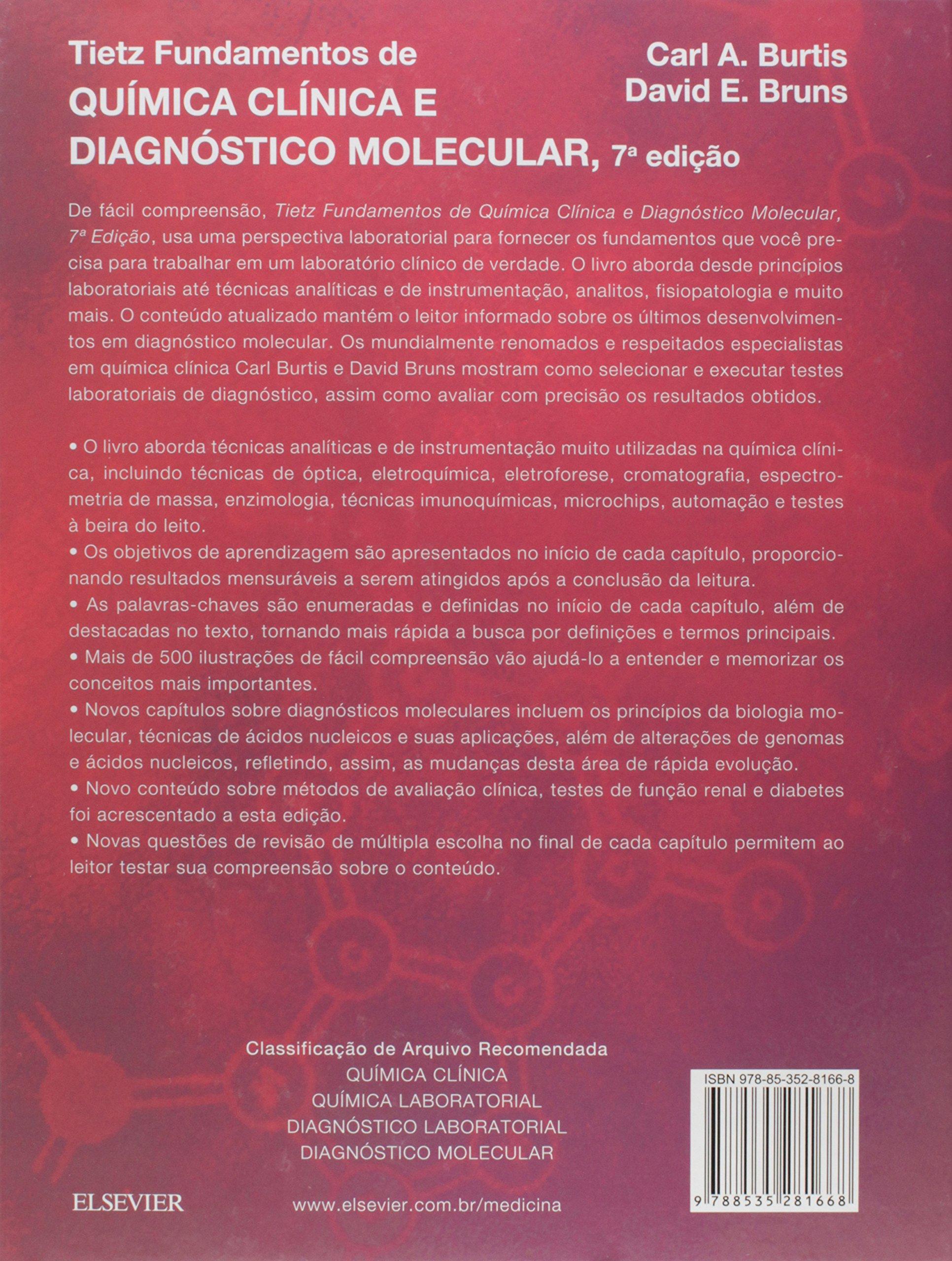Tietz Fundamentos de Química Clínica e Diagnóstico Molecular ...