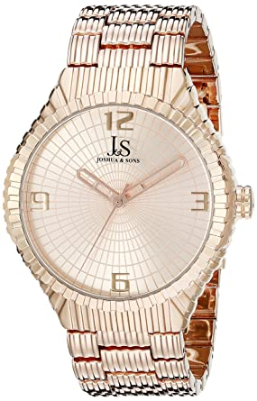 2e583b170af Image Unavailable. Image not available for. Color  Joshua   Sons Men s  JS99RG Rose Gold ...