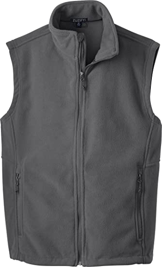 ZUZIFY Fundamental Mens Tall Fleece Vest RW0577