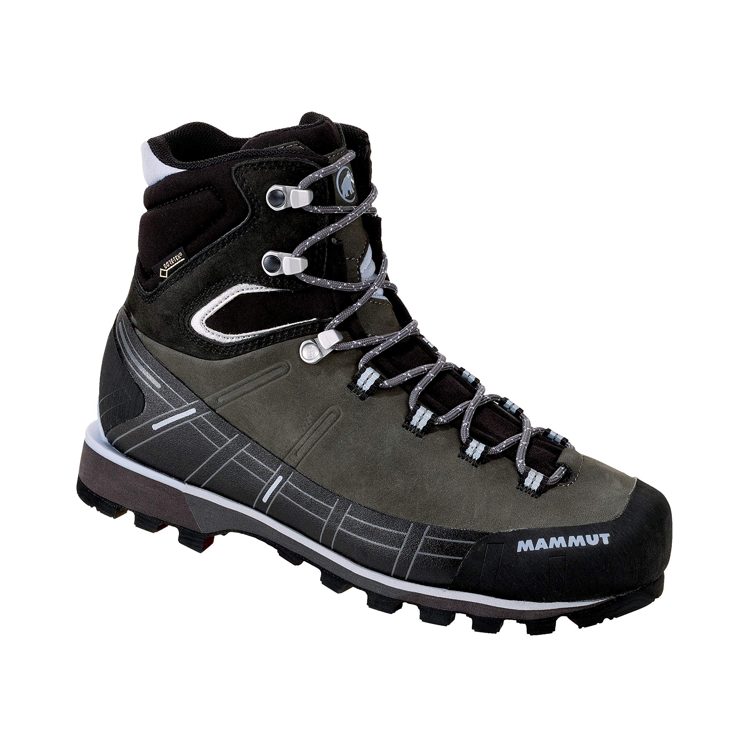 Mammut Women's Kento High GTX Mountaineering Boots; Size: 8.5 - Graphite-Black