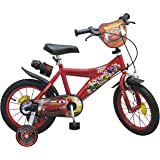 14 zoll kinderfahrrad disney cars mcqueen kinder fahrrad. Black Bedroom Furniture Sets. Home Design Ideas