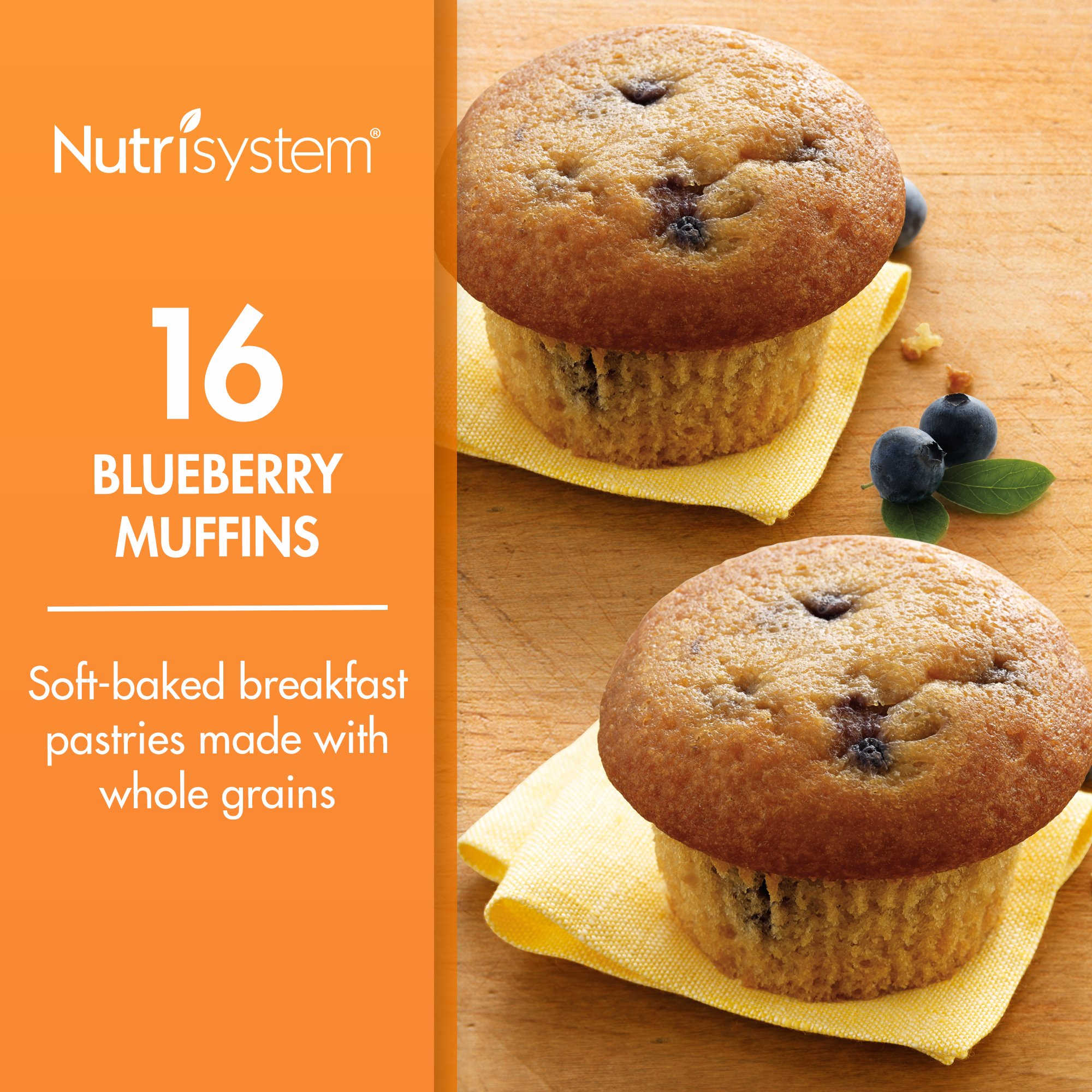 Nutrisystem Blueberry Muffins, 16 ct
