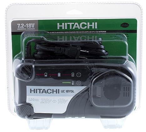 Amazon.com: Hitachi uc18ygl 7.2 – 18-volt Cargador de ...