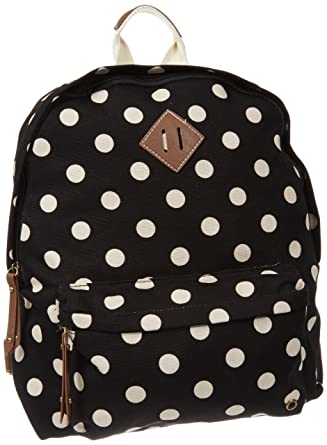 3ef2af632 Amazon.com: Madden Girl Bskool Backpack,Polka Dot,One Size: Clothing