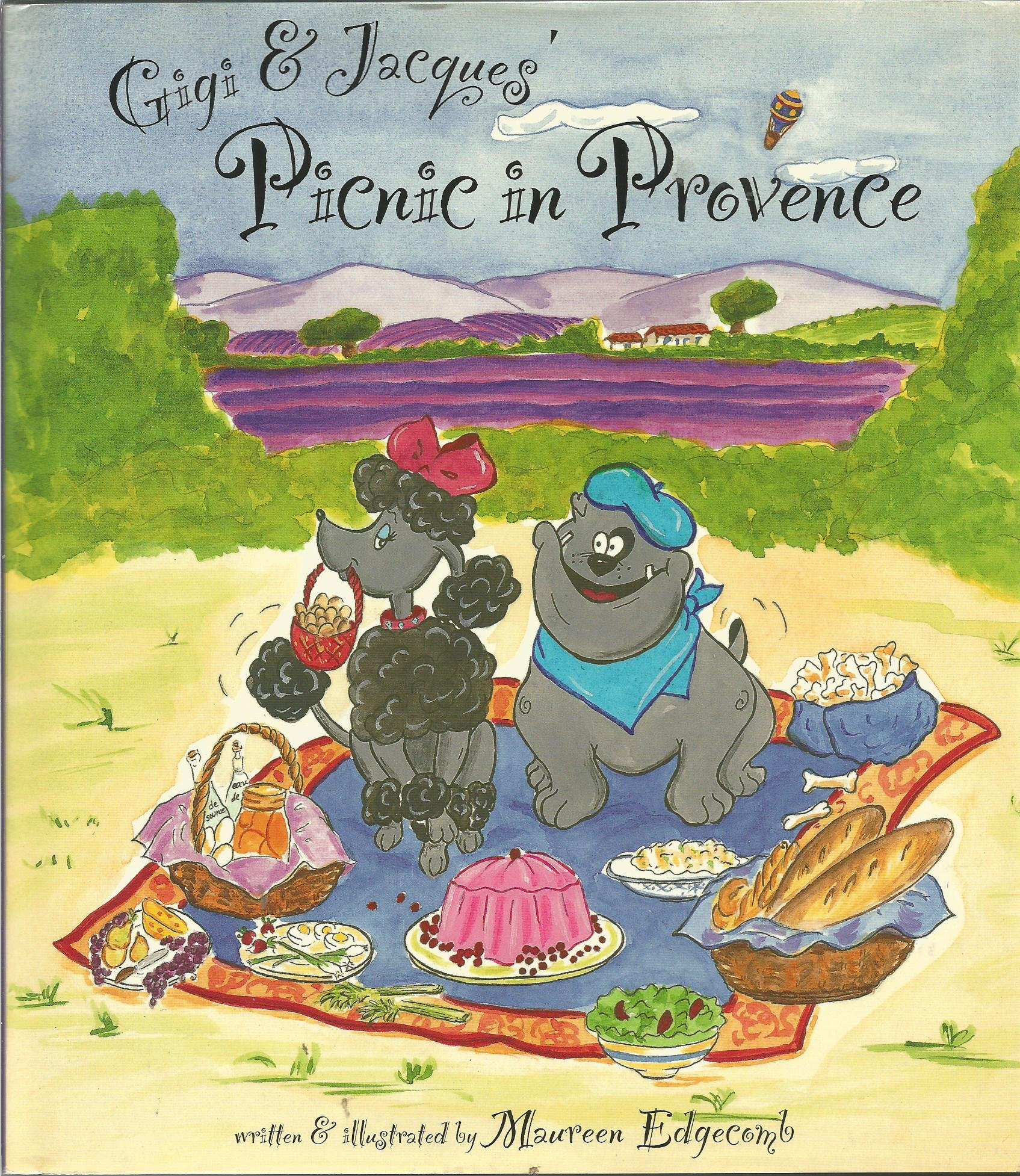 Gigi & Jacques Picnic in Provence Maureen Edge b