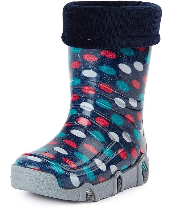 Ladeheid Botas de Agua Zapatos de Seguridad Calzado Unisex Niños Swk: Amazon.es: Zapatos y complementos