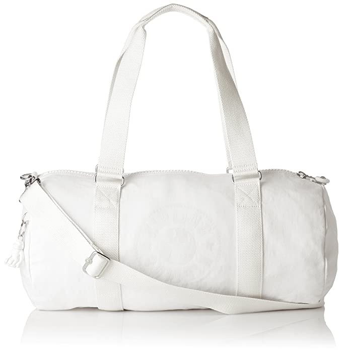Kipling ONALO Gym Tote, 45 cm, 18 liters, White (Lively White)