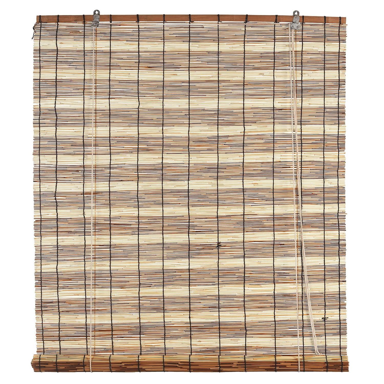 Ev Tapparella Etnica Paraguay in Bamboo c/carrucola 90x180 cm Porta Finestra Privacy Luce Manifattura Quattro F. TAEP090180BIC