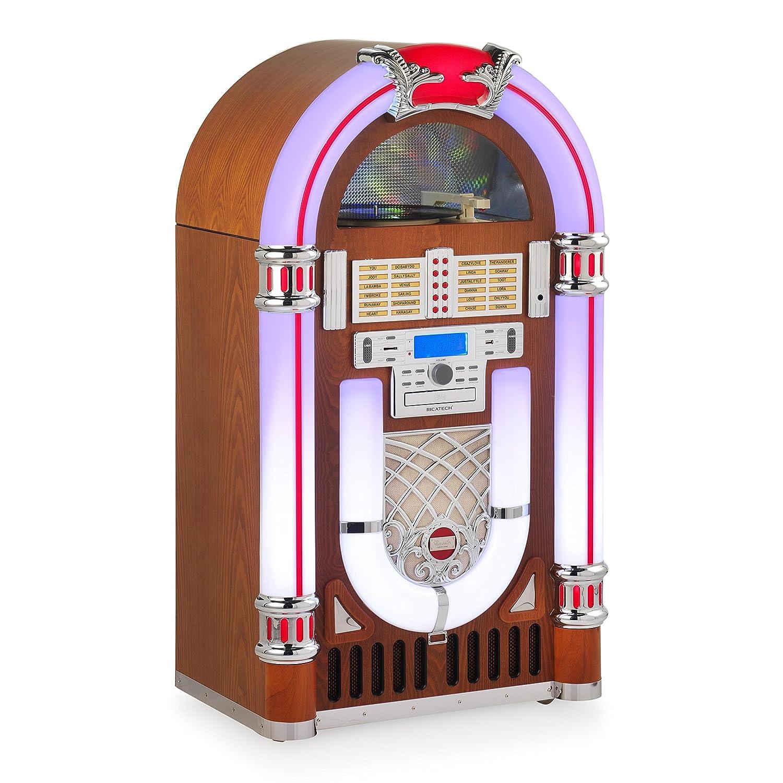 Ricatech RJS106 - Soporte para Equipos de Audio y DVD, marrón