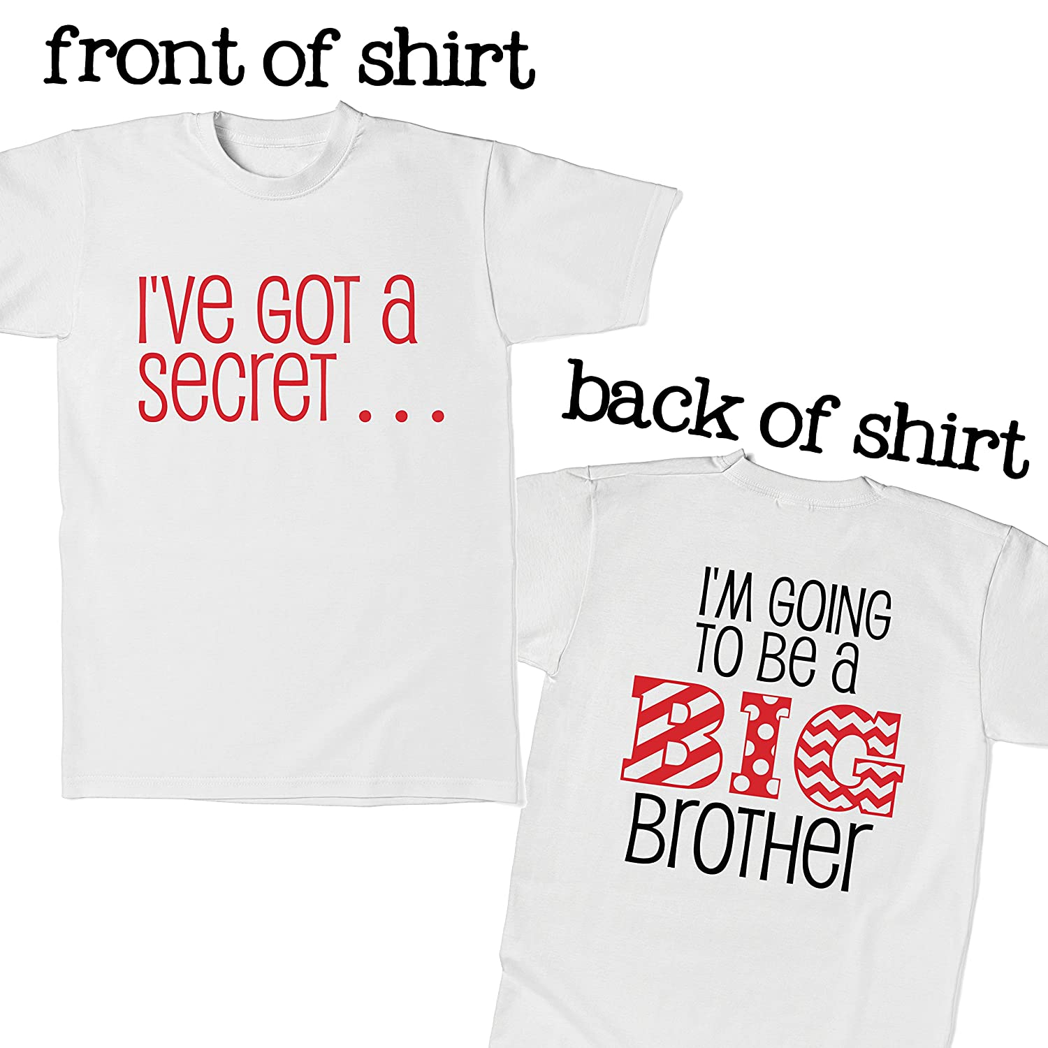 Big Brother T-Shirt For Pregnancy Announcements I/'m Going To Be A Big Brother