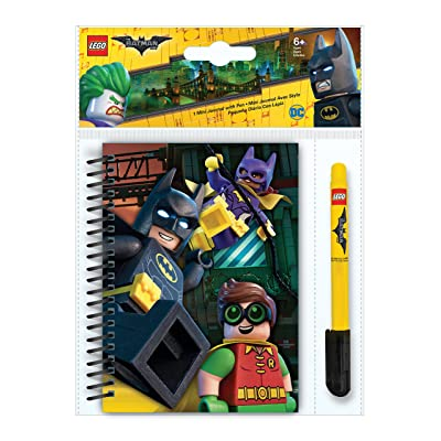 Lego Iq LG51742 Batman Movie - Mini Journal + Stylo Gel