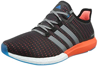 newest f31d1 d279c Adidas Men s Cc Gazelle Boost M Black and Red Mesh Sneakers - 12 UK
