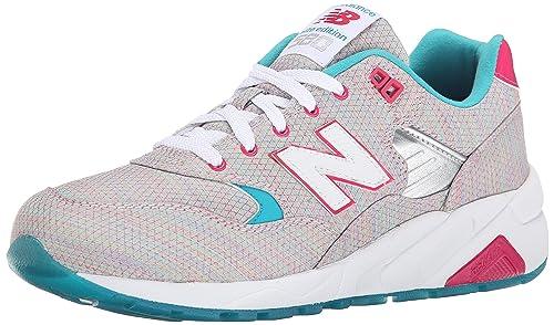 New Balance Women s WRT580 Classic Running Fashion Sneaker, Multi Color, 6 B  US a04f77a86760