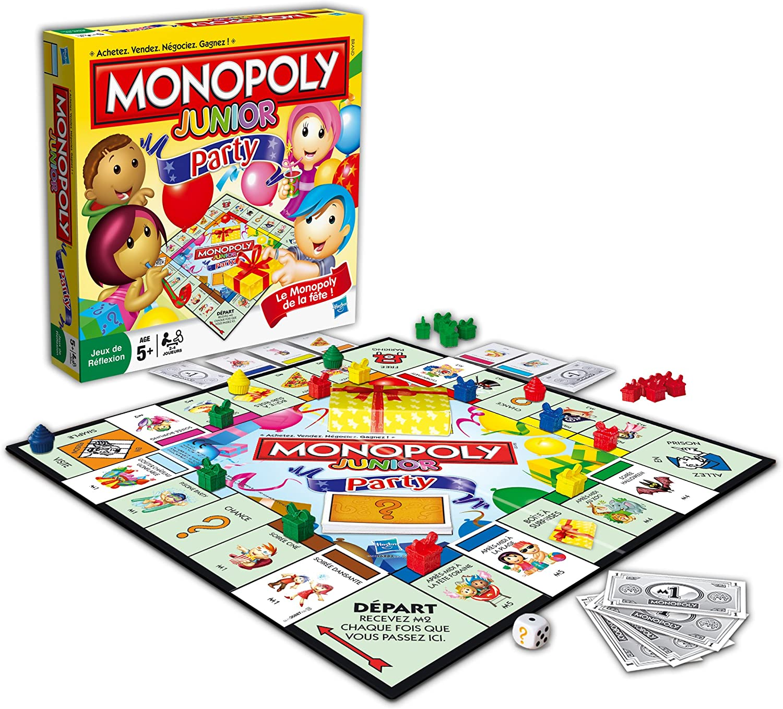 Hasbro 368871010 Monopoly Junior Party - Juego de Mesa (en francés ...