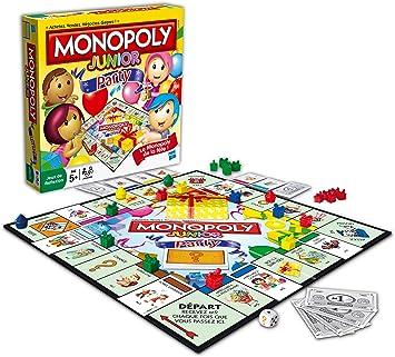 Hasbro 368871010 Monopoly Junior Party - Juego de Mesa (en ...