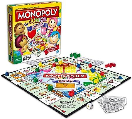 Hasbro 368871010 Monopoly Junior Party - Juego de Mesa (en francés): Amazon.es: Juguetes y juegos