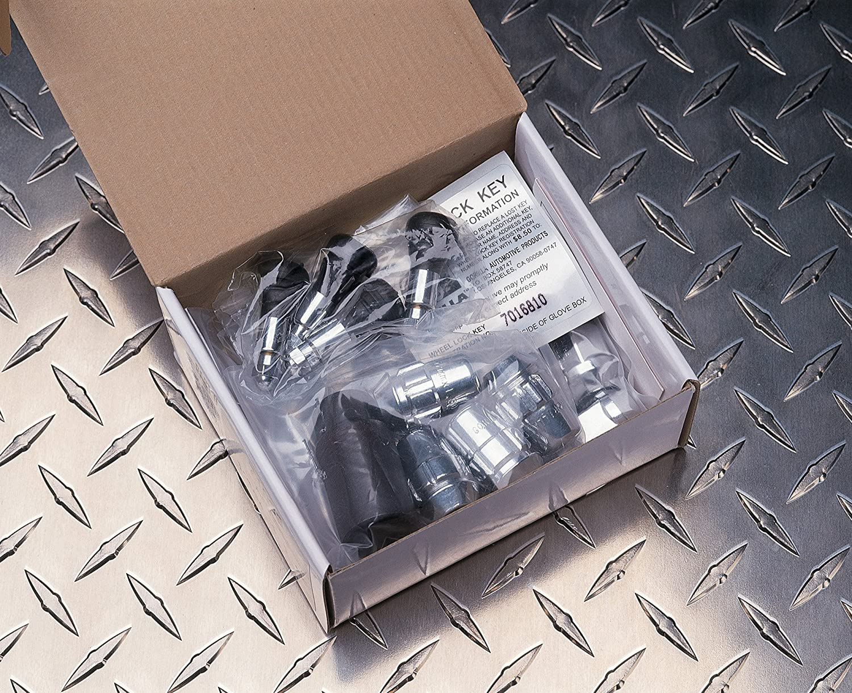-for 6 Lug Wheels Gorilla Automotive 91944XLHT Acorn Bulge Extra Long Heat Treated Wheel Installation Kit 14mm X 1.50 Thread Size